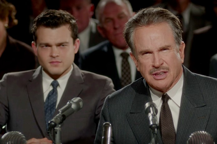 Academy Award-Winner Warren Beatty Makes His Return to Hollywood in the Film 'Rules Don't Apply'