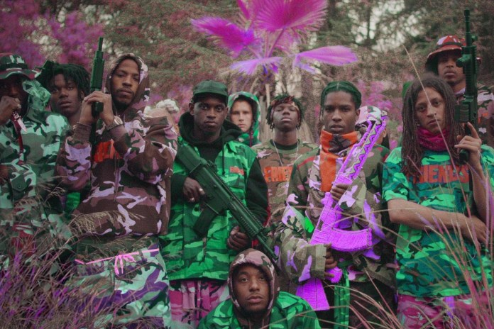 "Watch A$AP Mob Recreate the ""Yamborghini High"" Video Live on 'The Tonight Show'"