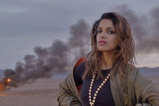 "Watch M.I.A. & Skrillex Get Explosive in New Video for ""Go Off"""