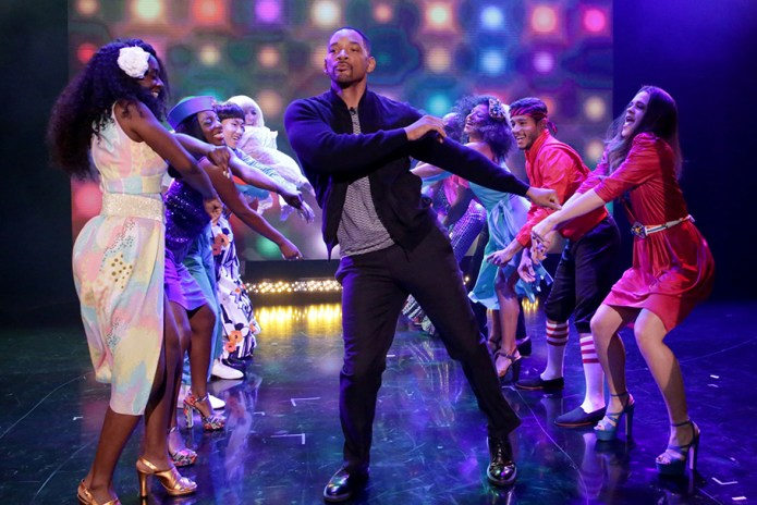Will Smith Ambitiously Aims for Multiple Grand Entrances in His 'Tonight Show' Appearance
