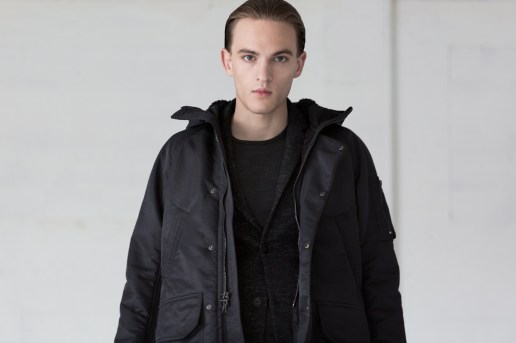 "wings+horns 2016 Fall/Winter ""In Praise of Shadows"" Lookbook"