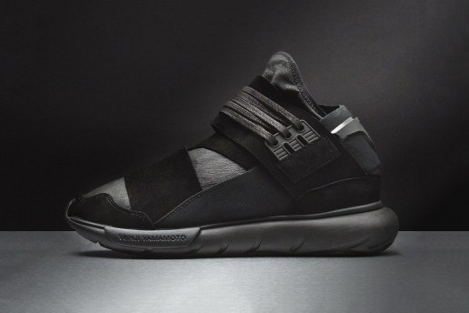 "Y-3's Qasa Hi Returns In ""Triple Black"" With a Premium Upgrade"