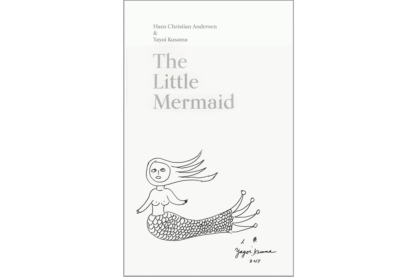 Yayoi Kusama Reinterprets 'The Little Mermaid' in New Illustrated Book