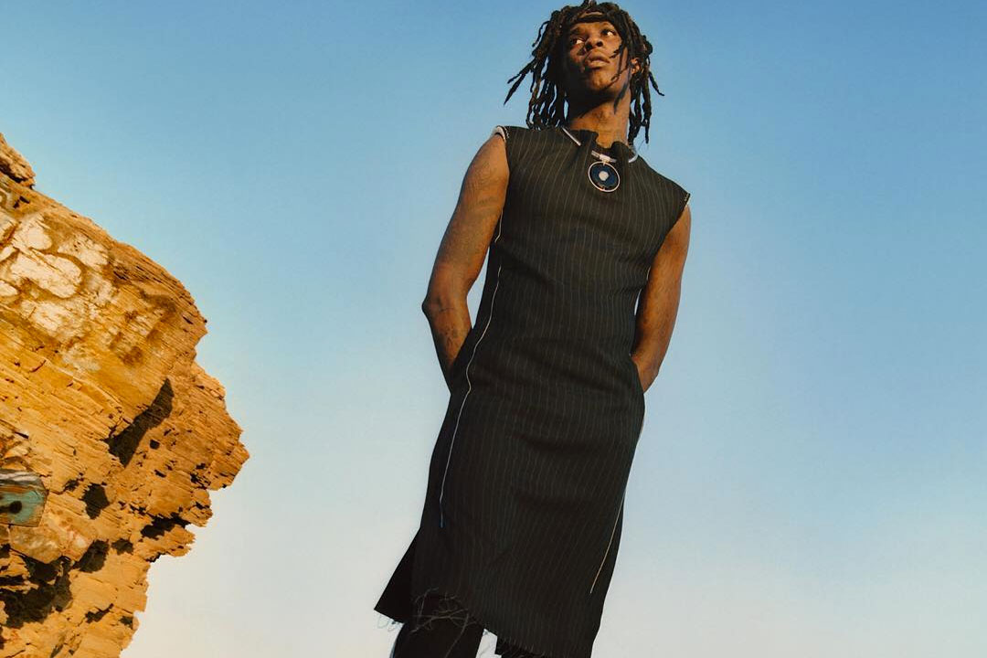 Young Thug Models Calvin Klein Womenswear in New Campaign Image