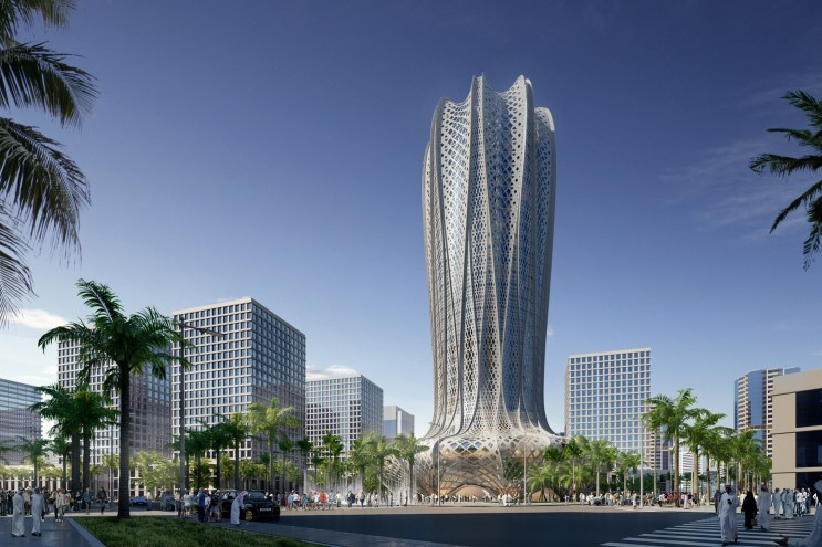 Zaha Hadid Architects to Design a Hotel & Residential Tower in Qatar