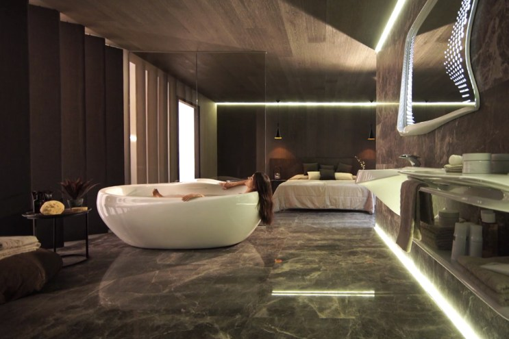 Zaha Hadid Design Teams up With Porcelanosa for a Luxe Bathroom Collection of the Finest Quality