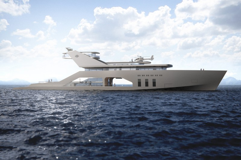 The 108M Mega Yacht Concept Is a Floating Luxury Hotel