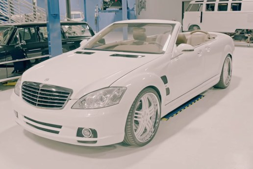 2 Chainz Visits Shaq's Custom Mercedes at West Coast Customs on 'Most Expensivest S**t'