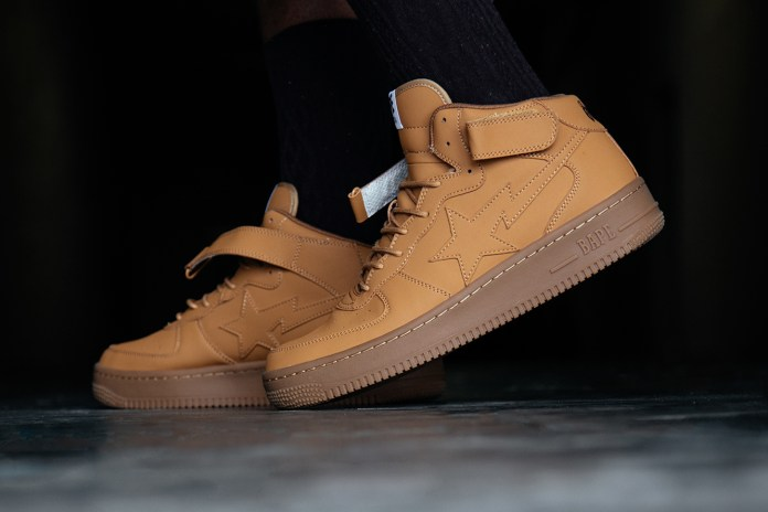 """A Bathing Ape Finally Releases the BAPE STA Mid """"M1 Foot Soldier"""""""