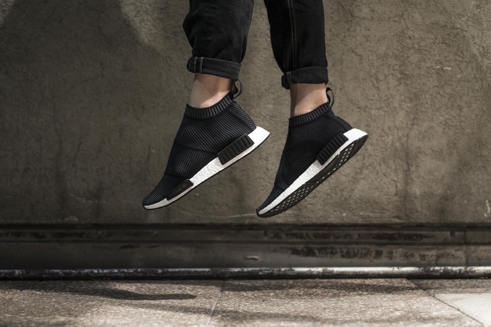 adidas originals nmd Black. adidas originals nmd Black adidas city sock  black white ... 6896df285