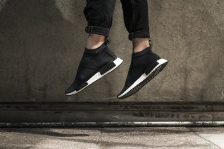 "A Closer Look at the adidas Originals NMD City Sock ""Core Black/Core Black"""