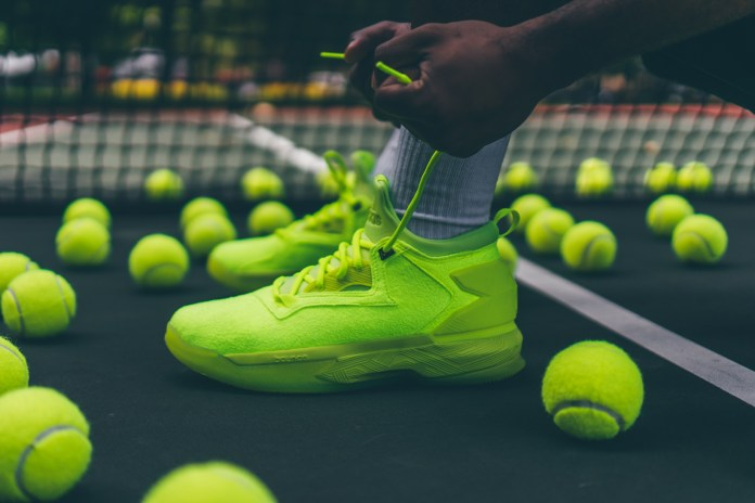 "adidas D Lillard 2 Receives the ""Tennis Ball"" Treatment"