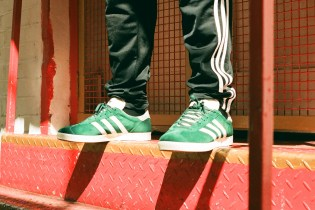 adidas and HYPEBEAST Teleport the GAZELLE Between New York, London and Shanghai