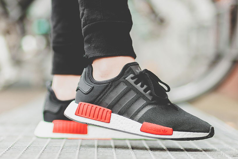 Wholesale Nmd R1 Primeknit Tri color