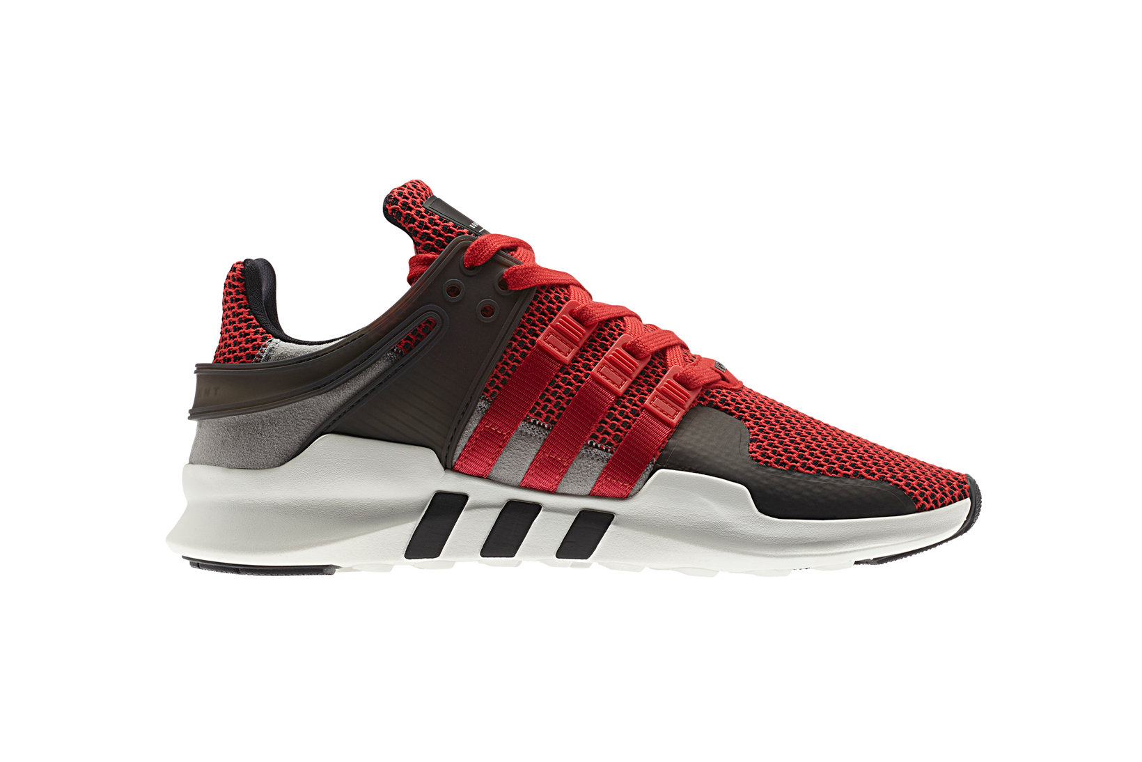 purchase cheap 2069a 99dca adidas Originals Wraps the EQT Support ADV Primeknit in Grey   Burgundy