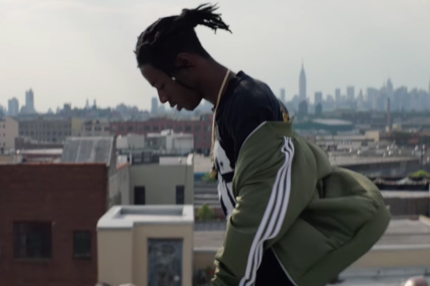 Joey Bada$$ Ushers in the adidas Originals New NYC Flagship Store