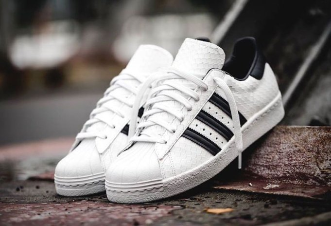 The Iconic adidas Originals Superstar 80s Gets a Luxe Snakeskin Upper