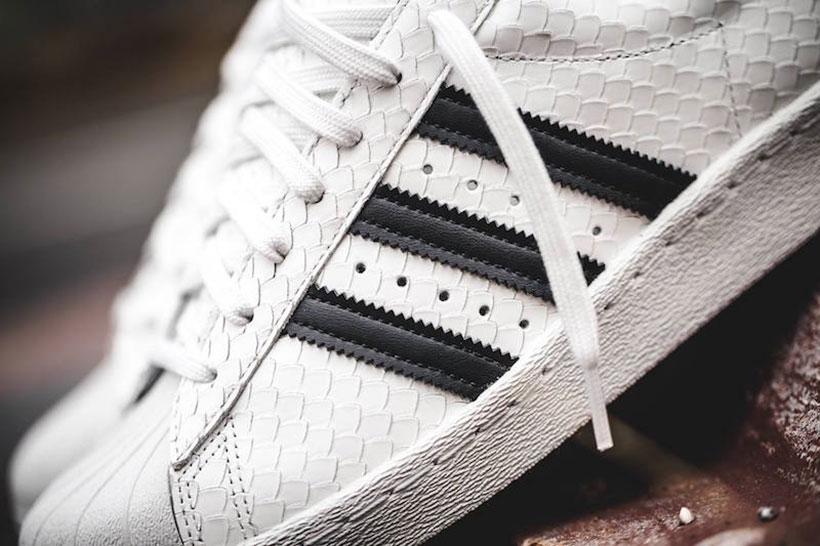 The adidas Superstar 80s Gets Deconstructed For The Summer