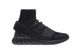 "adidas Subtly Updates Its ""Triple Black"" Tubular Doom Colorway"
