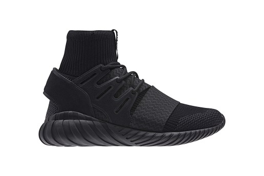 "adidas Subtly Updates Its ""Triple Black"" Tubular Doom Colorway"