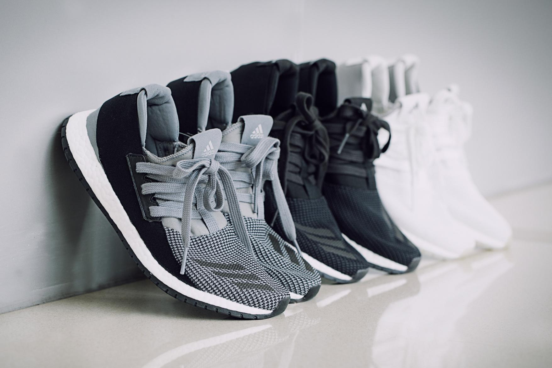 purchase cheap ba492 e10c2 adidas Pure BOOST RAW Sneaker