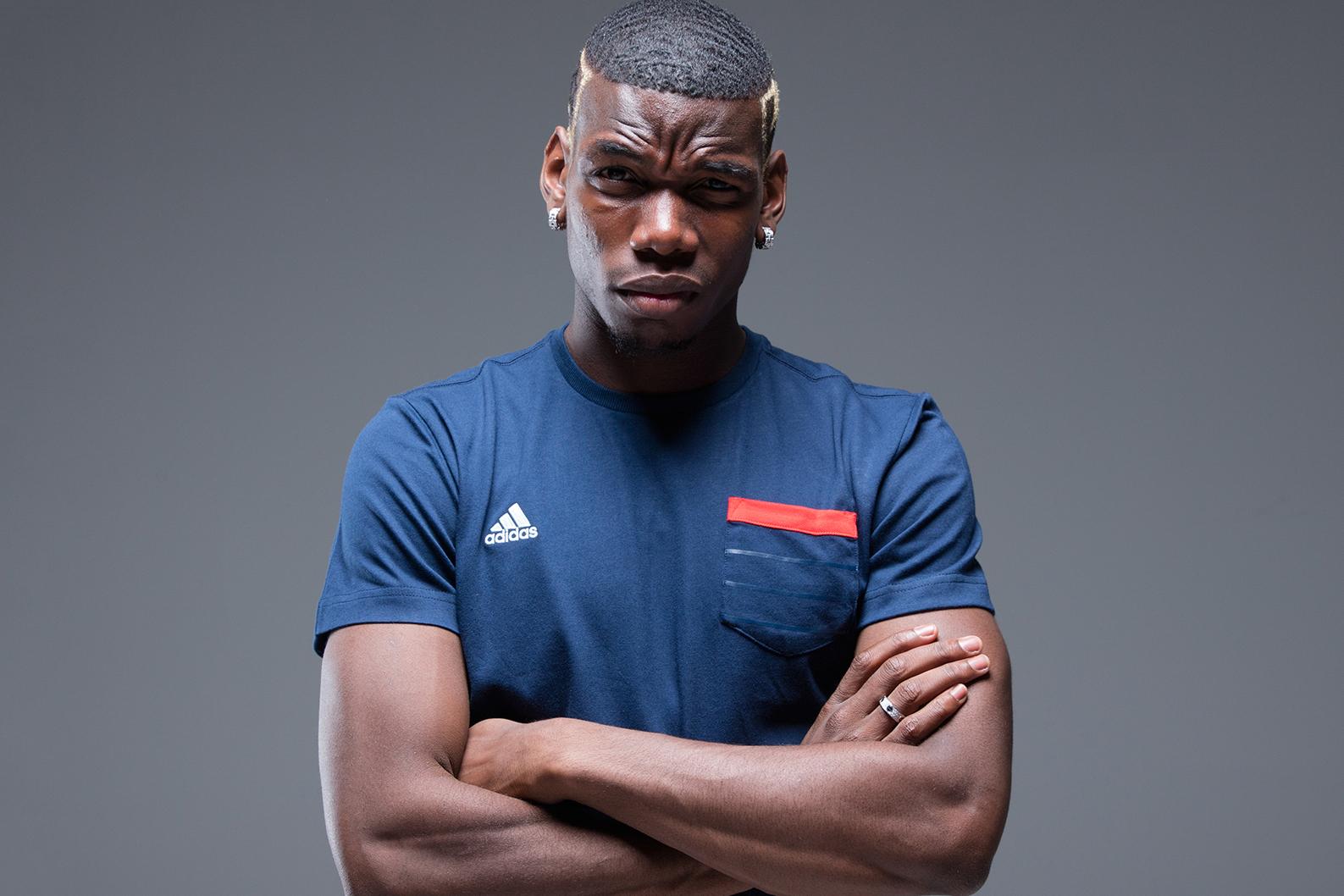 adidas & Stormzy Celebrate Paul Pogba's Return to Manchester United