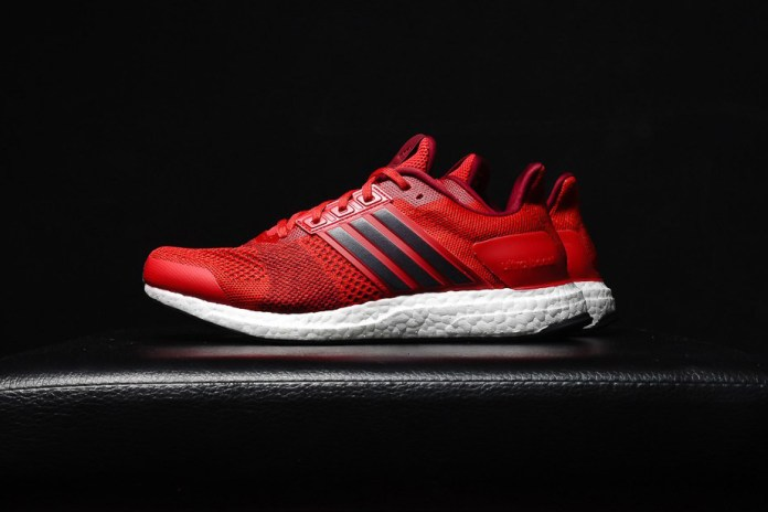 "adidas Ultra Boost ST Goes Bold in ""Ray Red"""