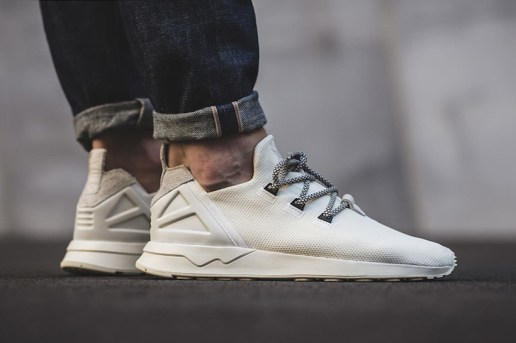 New adidas Orginals ZX Flux ADV Tops Off with Yeezy Laces