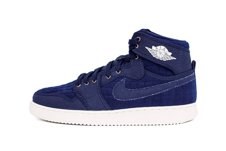 "The Air Jordan 1 KO ""QUILTED"" in Dapper Denim"