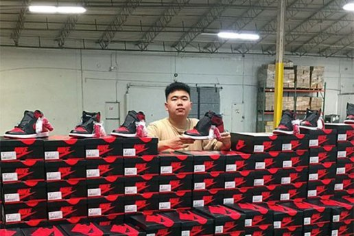 "Infamous Reseller Allen Kuo Has Moved Onto the ""Banned"" Air Jordan 1s"