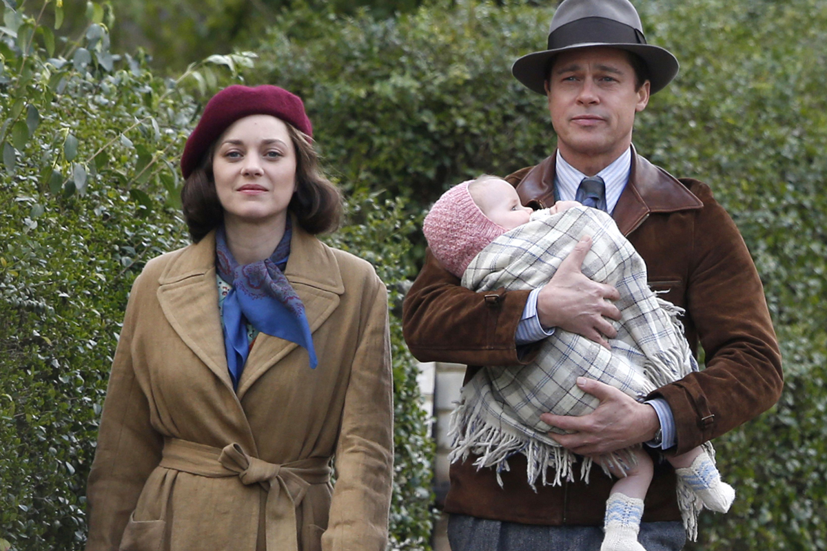 Brad Pitt & Marion Cotillard Become Deadly Assassins in New 'Allied' Trailer