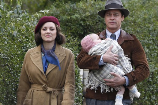 Brad Pitt & Marion Cotillard Become Deadly Assassins in New 'Allied' Trailer
