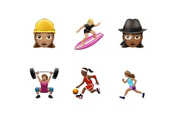 Brava, Apple's iOS 10 Update Includes Women Athletes and Other Gender Diverse Emoji