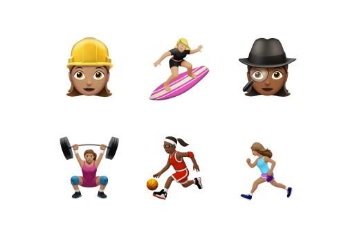 Brava, Apple's iOS 10 Update Includes Women Athletes and Other Gender Diverse Emoji