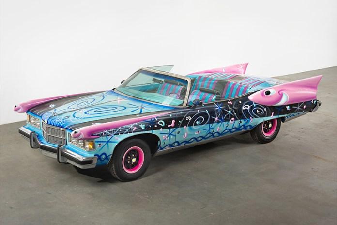 """Art and Automobiles Clash for """"Piston Head II"""" at LA's VENUS Gallery"""