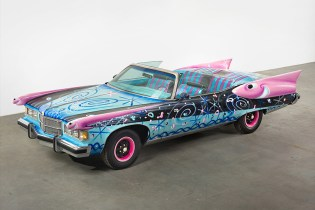 "Art and Automobiles Clash for ""Piston Head II"" at LA's VENUS Gallery"