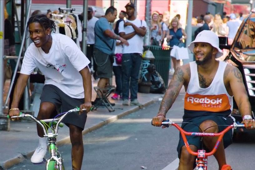A$AP Rocky and Swizz Beatz Take Us on a Tour Through The Bronx