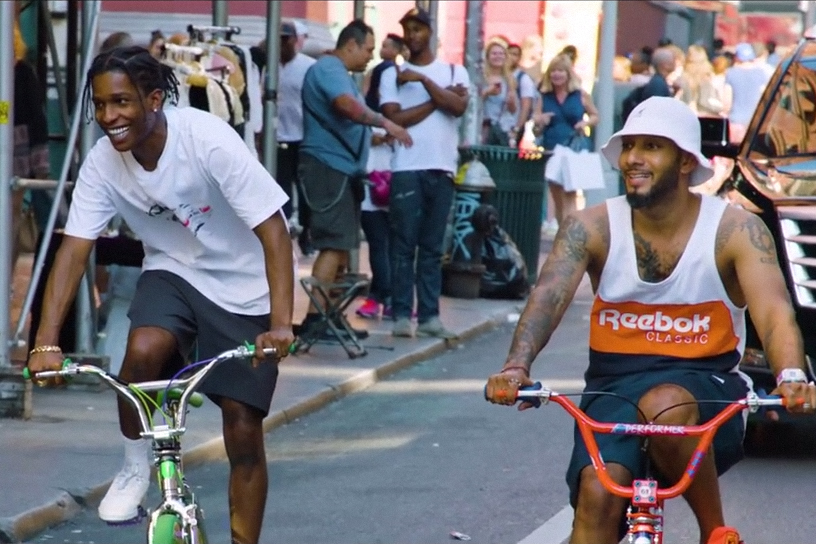 A$AP Rocky and Swizz Beatz Take Us on a Tour Through The Bronx
