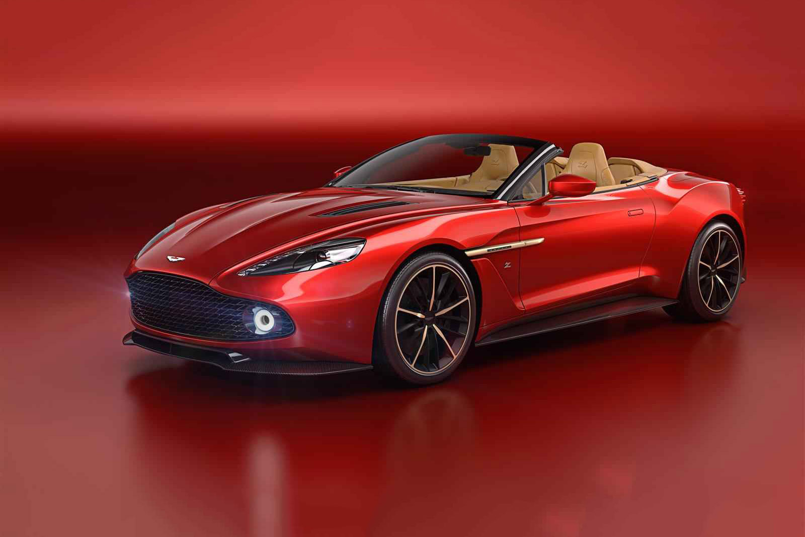Aston Martin Chops the Top off of Its Vanquish Zagato