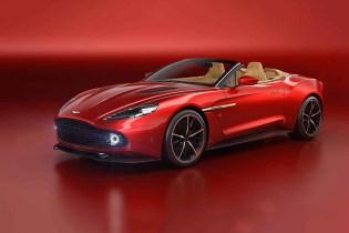 Aston Martin Chops the Top off of Its Vanquish Zagato