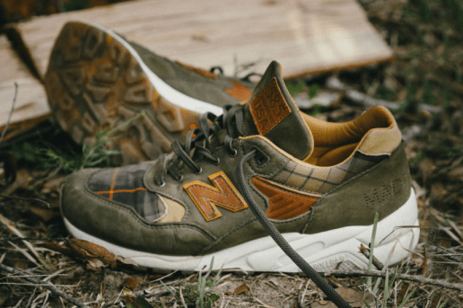 "The Ball and Buck x New Balance 585 Gives Its Take on the ""Sporting Gentleman"""