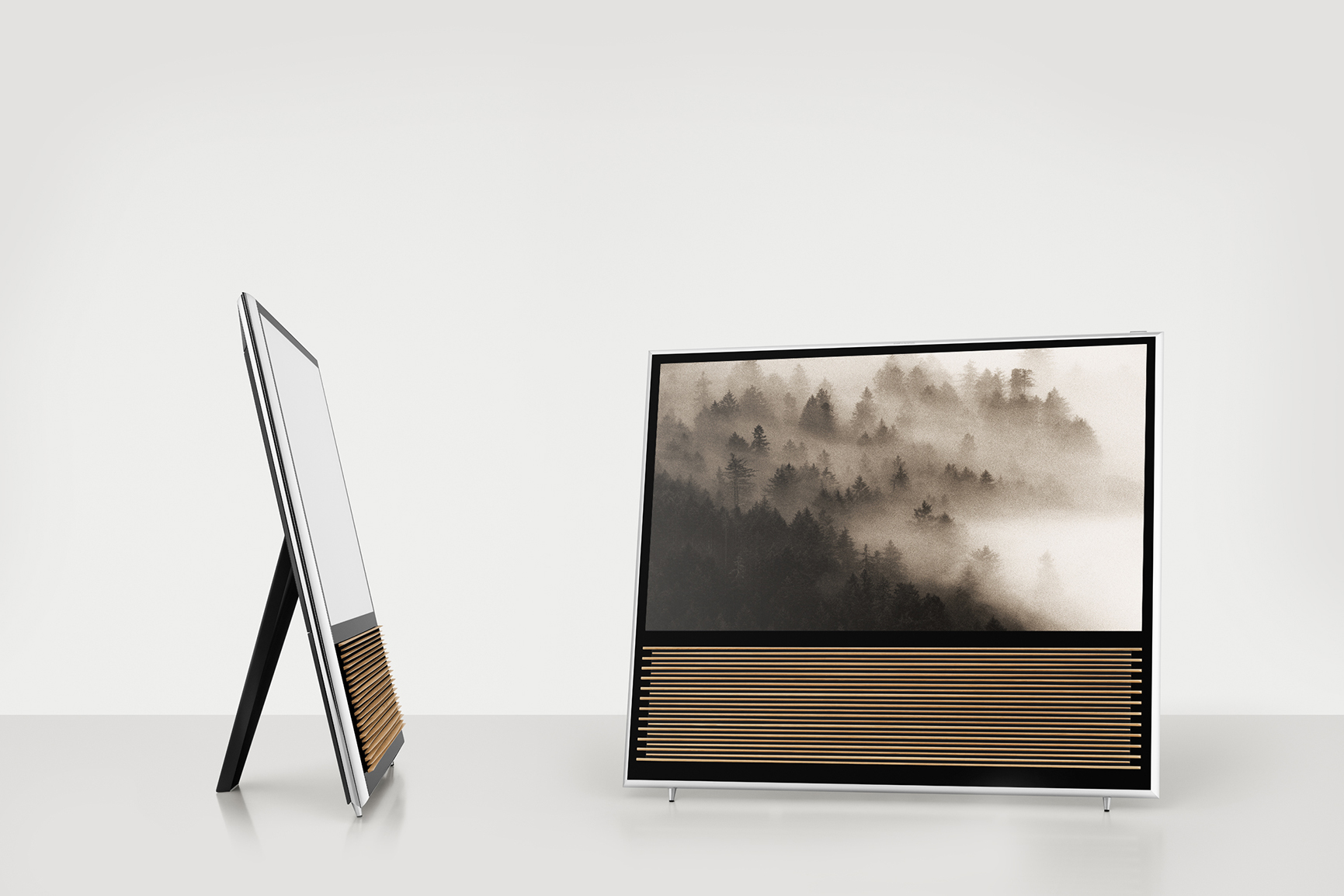 bang olufsen 39 s beovision 14 fuses nature with technology hypebeast. Black Bedroom Furniture Sets. Home Design Ideas