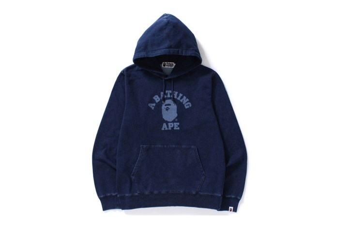 A Bathing Ape Releases an All-Indigo Collection