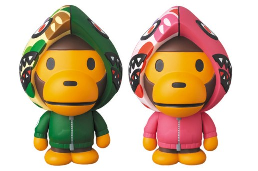 Here's Your Chance to Own a BAPE x Medicom Toy Baby Milo Shark Hoodie Figurine