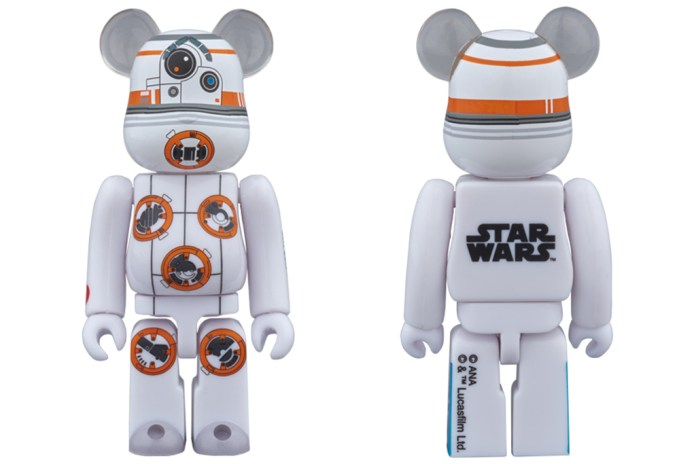 Here's Your Chance to Own a BB-8 x BE@RBRICK 100% and 400% Figurine