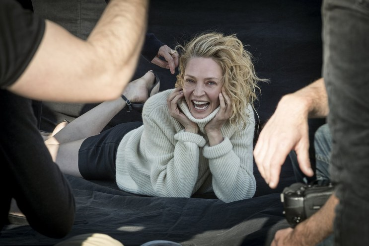 Behind-the-Scenes of the Upcoming 2017 Pirelli Calendar