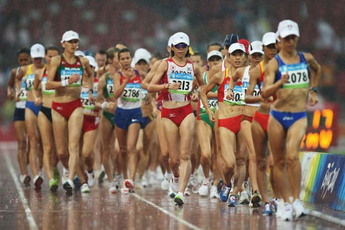 Race Walk Your Way Through These Bizarre Olympic Events