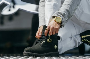 Black and Gold Cover the New Culture Kings x Timberland Boot
