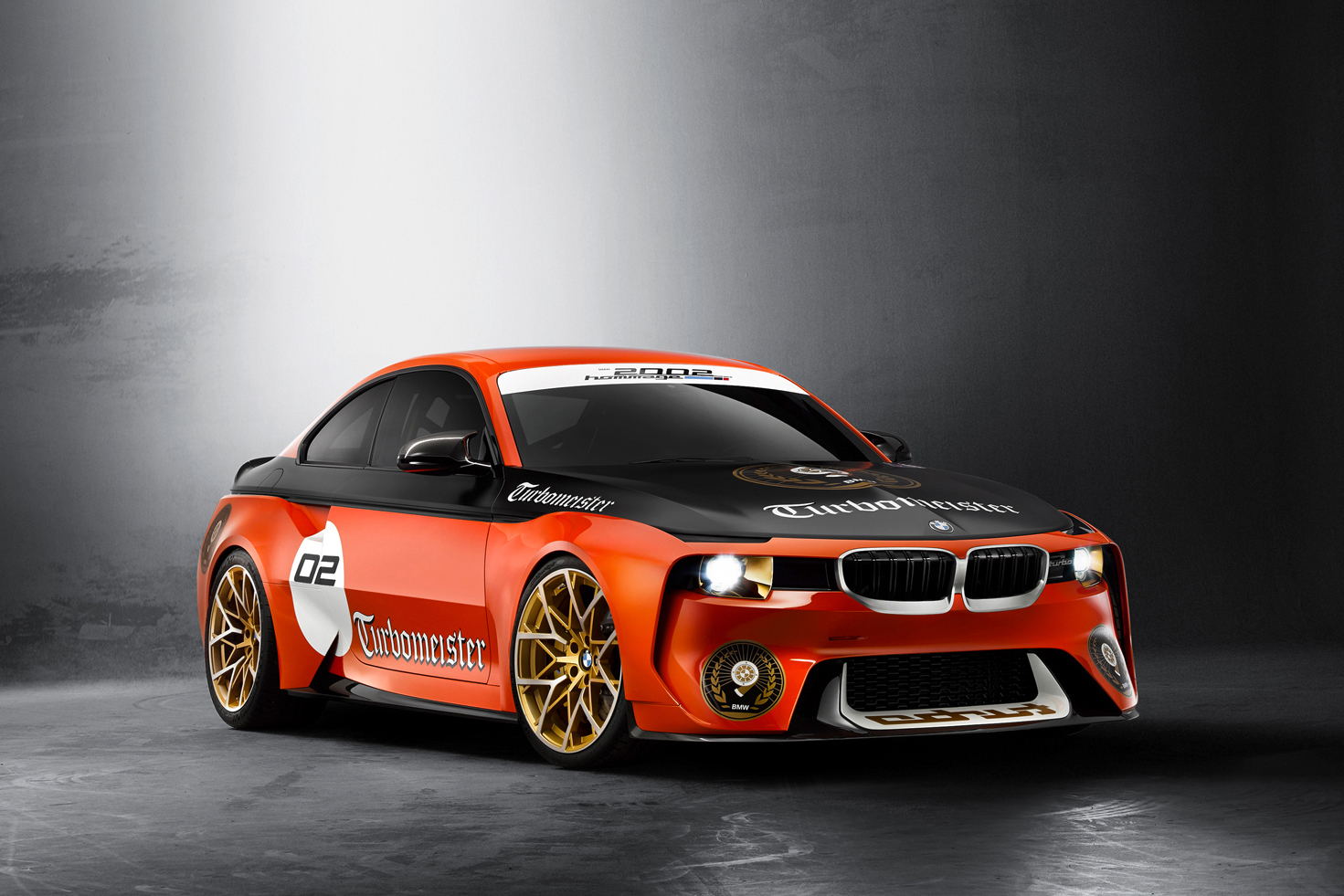 "The BMW 2002 Hommage Gets ""Turbomeister"" Livery for Monterey"