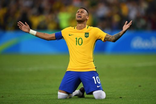 Neymar Jr. Wins Olympic Gold as Brazil Beat Germany on Penalties in Men's Football
